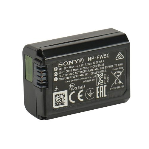 SONY A6300 – Rechargeable Battery