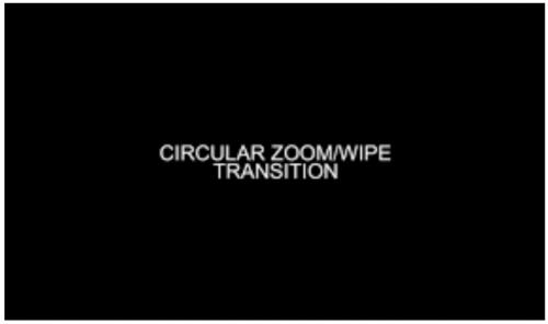 Circular Transitions