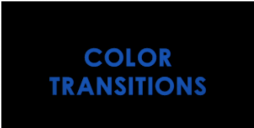 Color Transitions