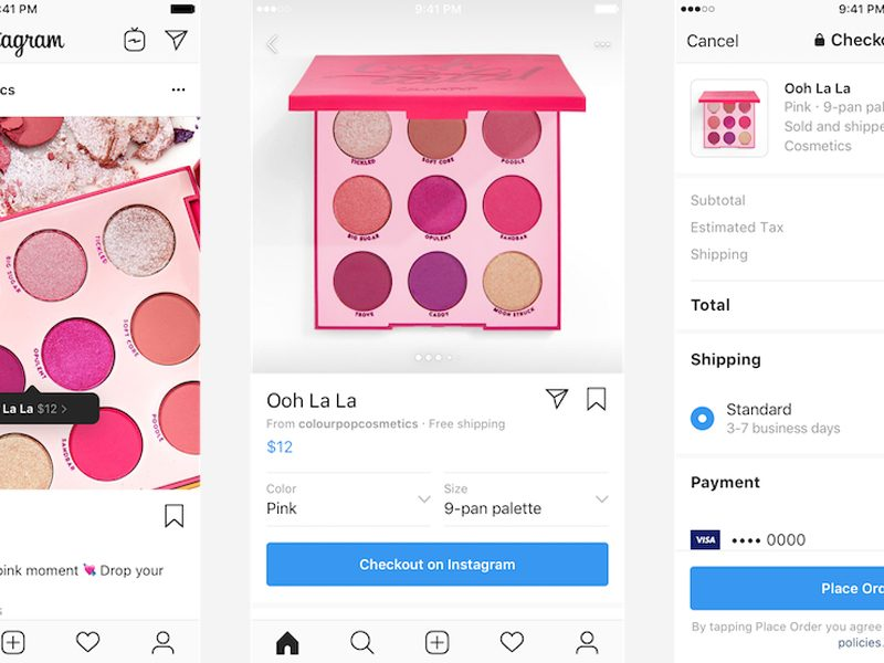Instagram 增設 IG Shop 結帳功能!