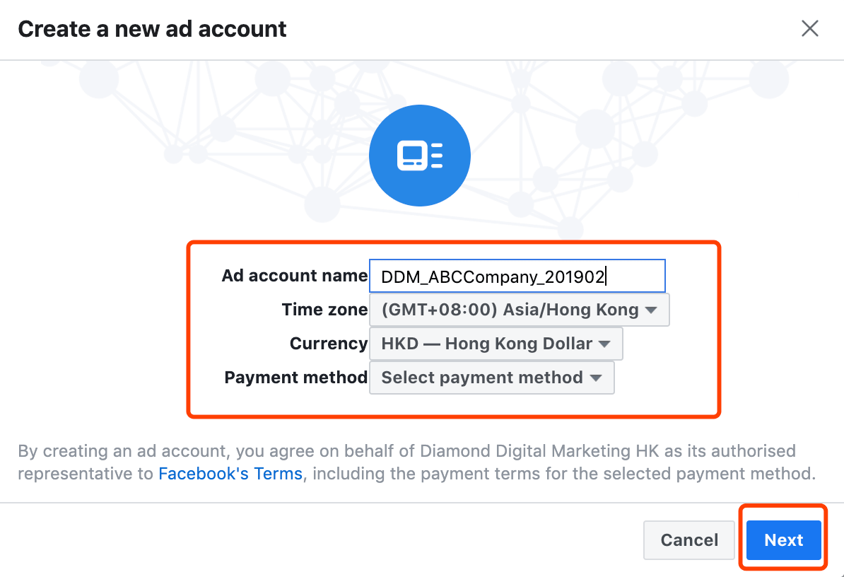 create-a-new-ad-account-digital-marketing-agency-hong-kong