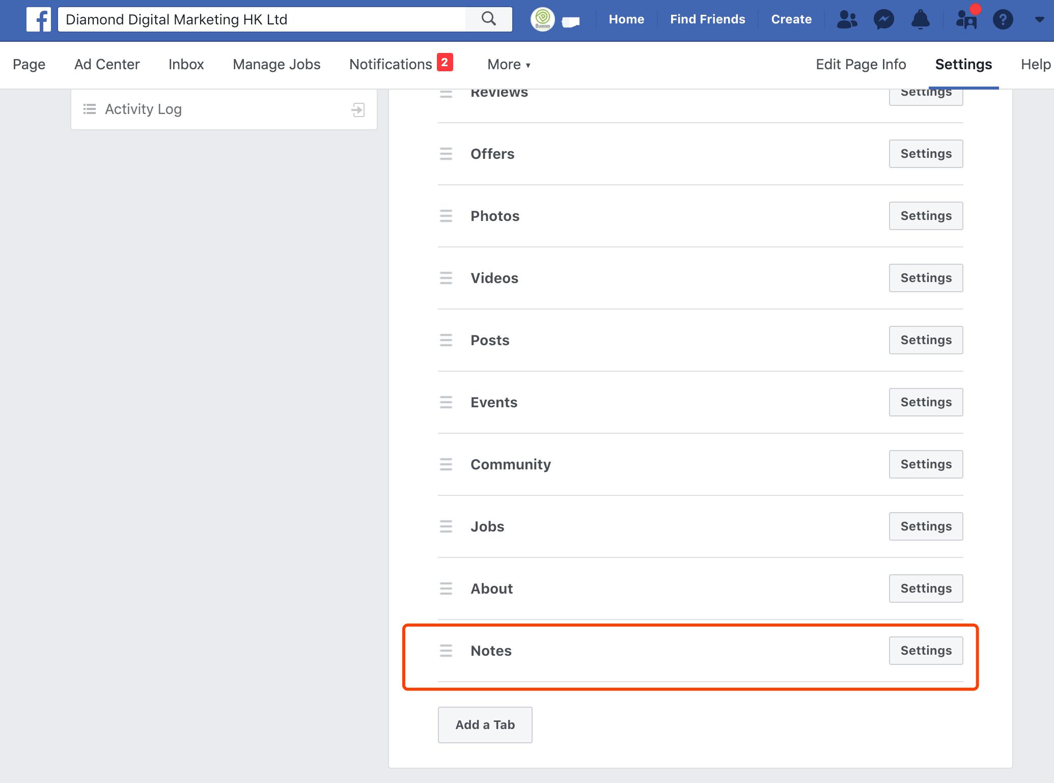 facebook-notes-digital-marketing-agency-hong-kong