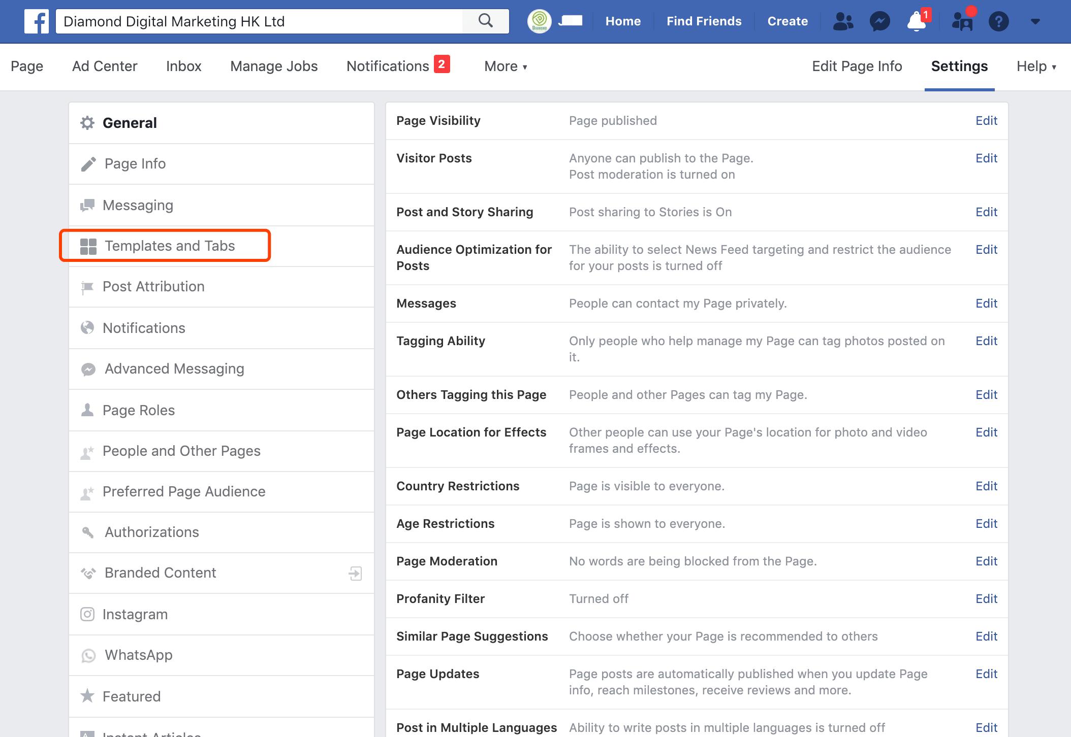 facebook-template-and-tab-digital-marketing-agency-hong-kong