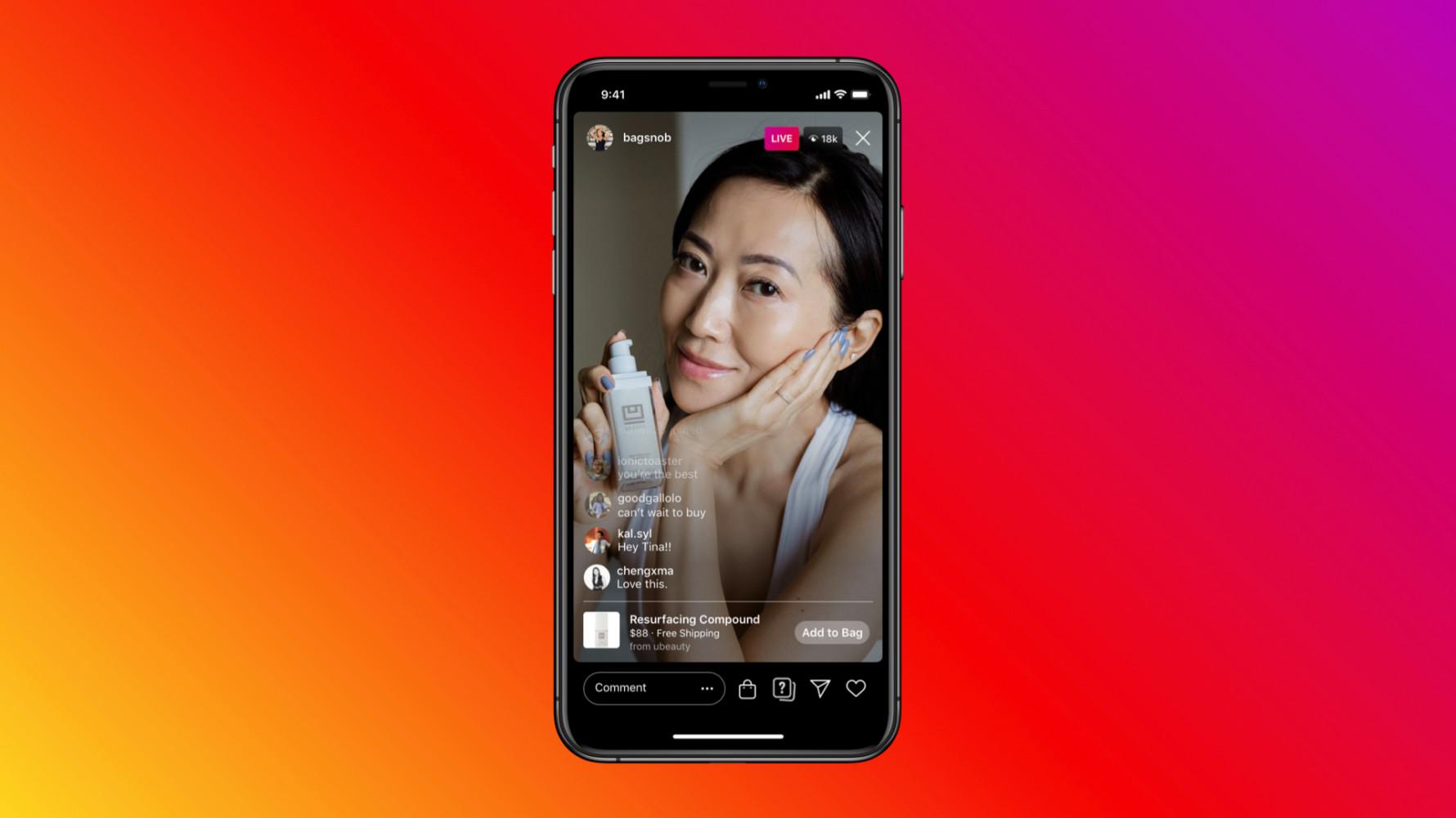 Facebook Shop 和 Instagram Shop – 2020年5月新功能推出