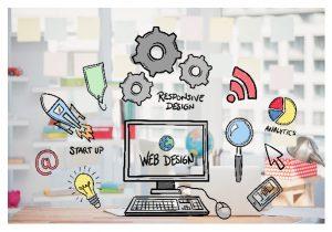 website design logo