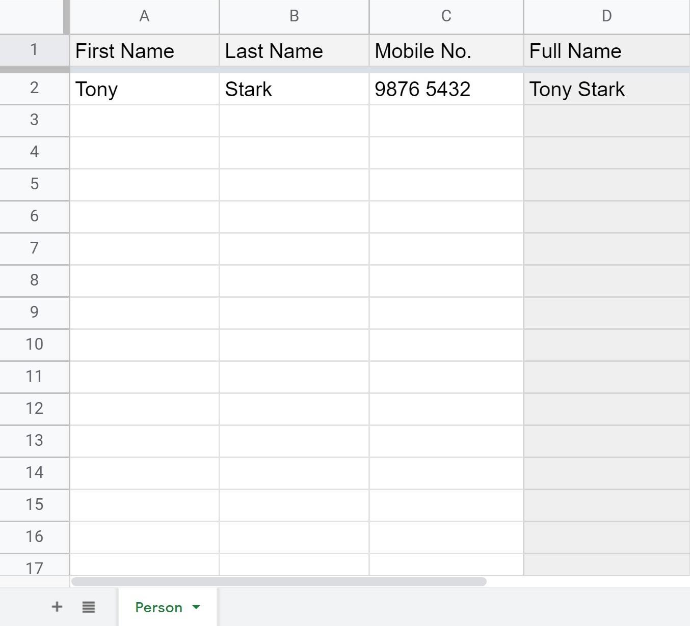 Google-Excel-CRM-DDM-HK